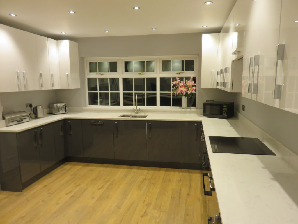 Gloss Anthracite kitchen