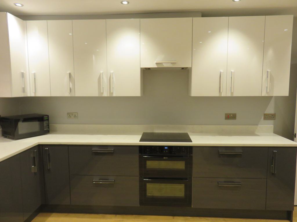 Gloss Anthracite Kitchen In Swindon By The Gallery Fitted