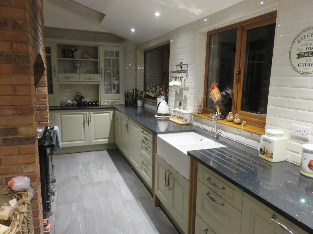 Jefferson Dakar Painted Kitchen