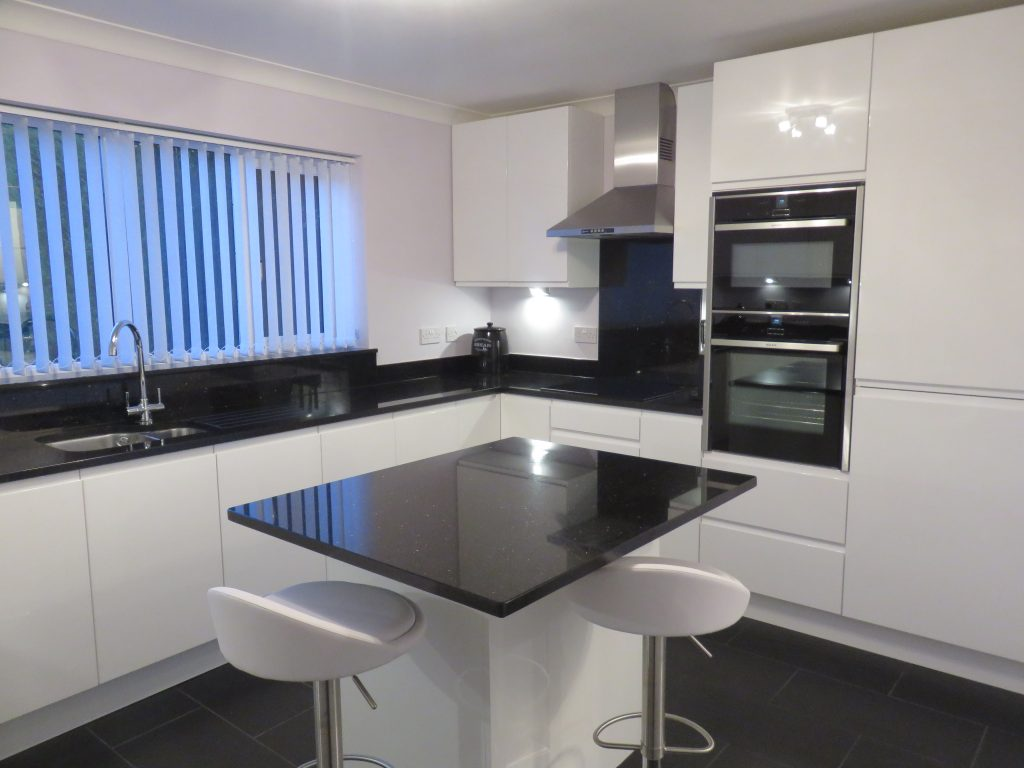 Strada Gloss White Kitchen Fitted In Kingswinford West