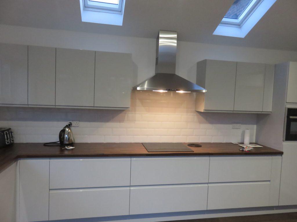 Light Grey Gloss Strada Kitchen