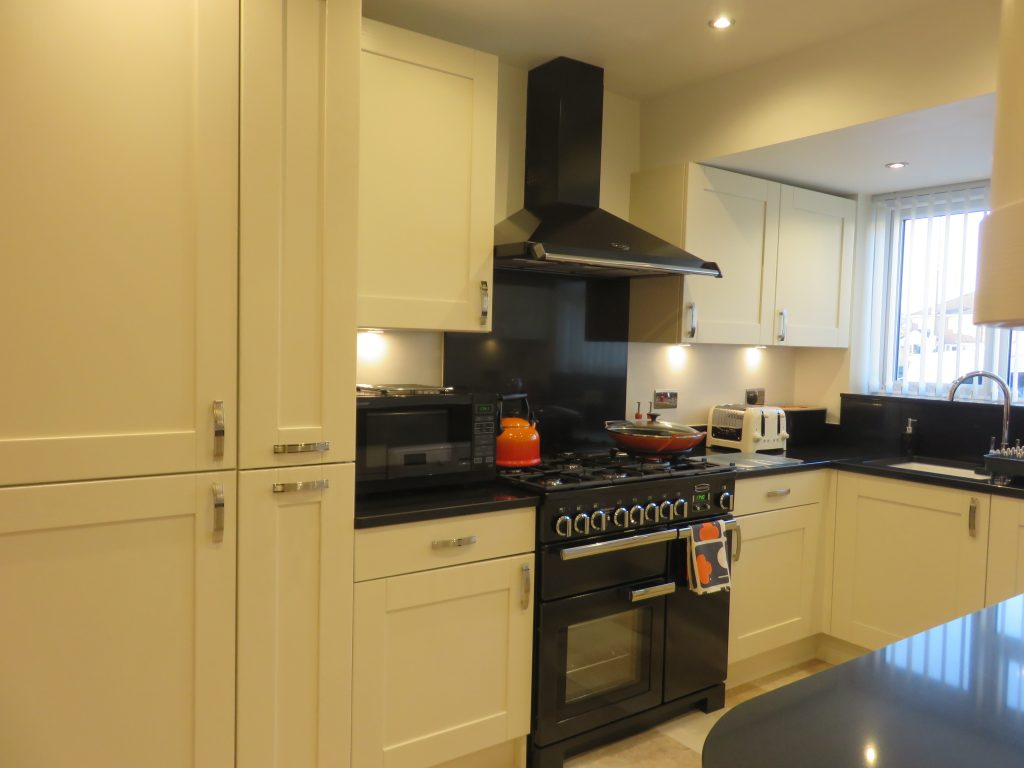 Painted ivory shaker kitchen the gallery fitted kitchens for Fitted kitchens uk
