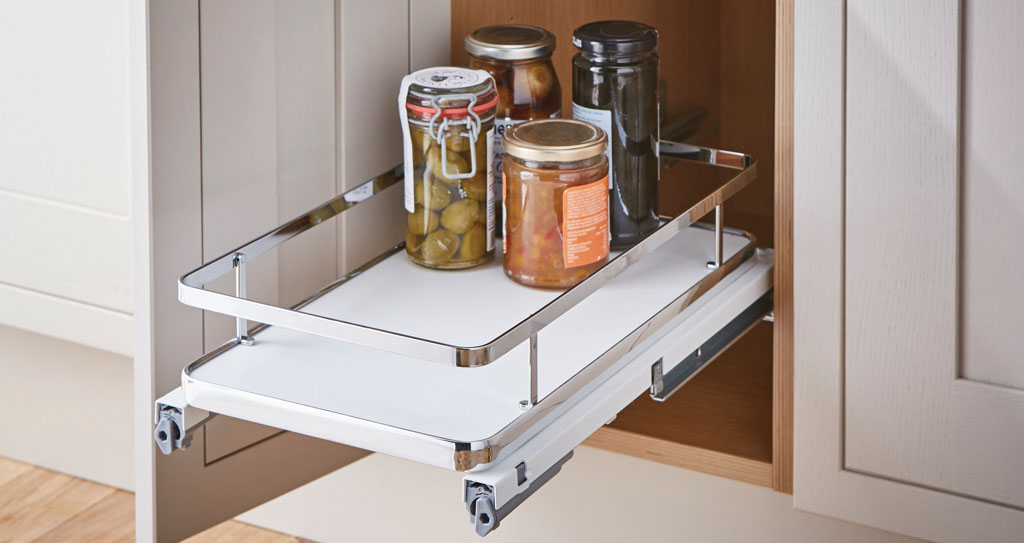 Storage solutions. Utilise kitchen space well and save