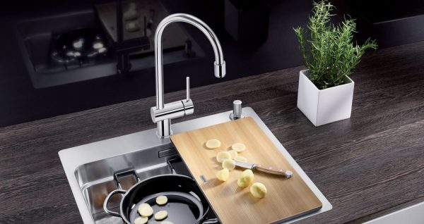 Blanco sinks and taps - appliances The Gallery - Blanco etagon stainless steel