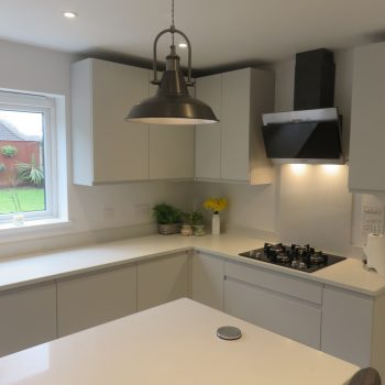 Recent Kitchen Projects From Stourbridge Dudley The Surrounding Areas - Light grey kitchen doors