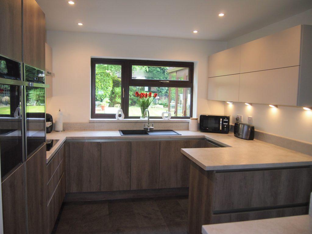 Industrial decor Linear kitchen Kingswiford | Kitchens West Midlands