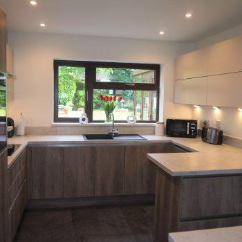 Industrial decor Linear kitchen Kingswiford   Kitchens West Midlands