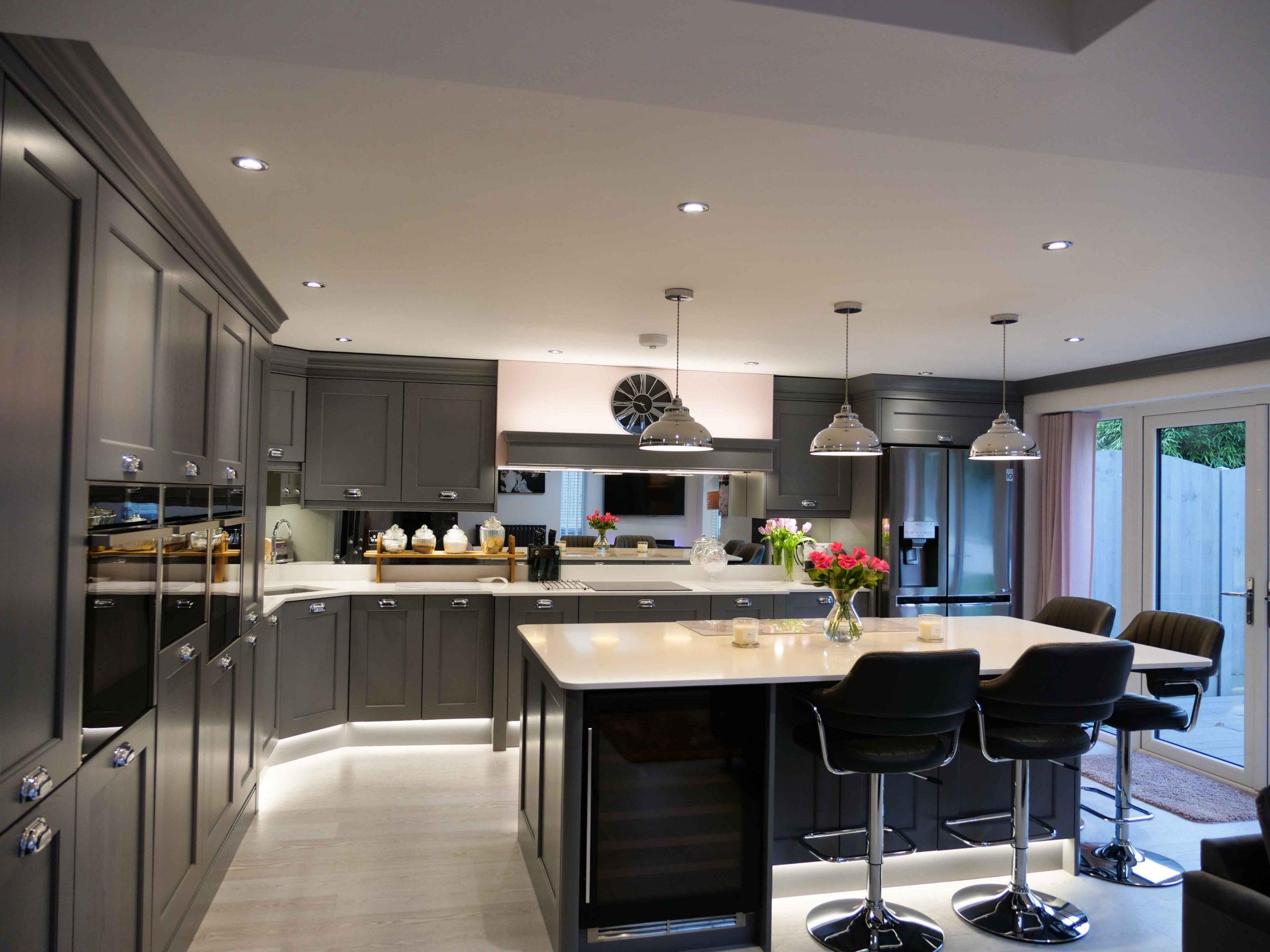 Contemporary kitchen design in Kidderminster   The Gallery ...